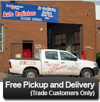 Melbourne Wide Radiators will pickup and deliver radiators for trade customers all over Melbourne